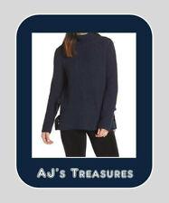 NWT UGG Australia Ceanne Turtleneck Sweater ~ Navy Heather ~ Size Large Reg $168