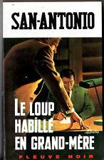 SAN-ANTONIO n°317 # LE LOUP HABILLE EN GRAND-MERE # 1969 série C