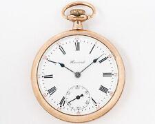 1910 E. Howard Watch Co. (Keystone) 16s 17j Adj Series 4 Pocket Watch! Running!!