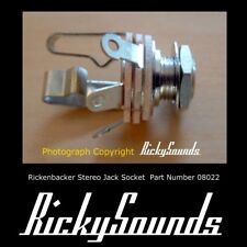 Estéreo Jack Socket Para Rickenbacker bajo O Guitarra