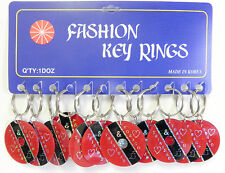 Wholesale Lot of 12 Souvenir Keychains I Love Trinadad & Tobago Free Shipping