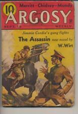 Argosy Weekly September 15, 1934 Vintage Pulp Magazine Very Good