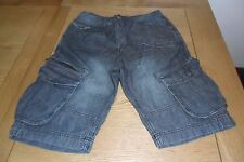 Cotton Denim Regular Shorts NEXT for Men
