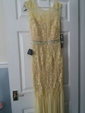 Women LIPSY yellow maxi dress brand new with tags cost £140 selling for £85