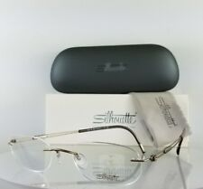 Brand New Authentic Silhouette 5223/40 6055 Eyeglasses Brown Frame 5223