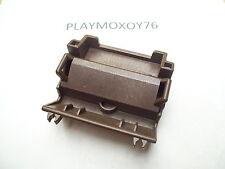 PLAYMOBIL. TIENDA PLAYMOXOY76. PIEZA DE CARRETA EN COLOR MARRÓN- WESTERN.