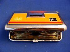 1976 OLYMPIC GAMES MONTREAL TASCO BINOCULARS IS ORIGINAL BOX made in Japan RARE!