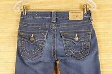 WOMENS TRUE RELIGION SERENA JEANS  BLUE.VERY GOOD CONDITION.SIZE 25X29  #776