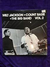 Milt Jackson Count Basie The Big Band Vol 2 Lp NM Vinyl