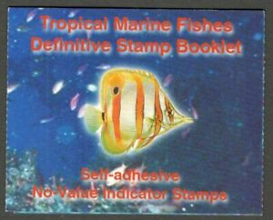 AOP Singapore 2001 Marine Fishes stamp booklet