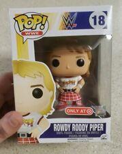WWE Walmart Exclusive! Series 1 - Rowdy Roddy Piper 1//12 Rarity Funko Mystery Mini