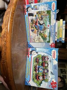 Ravensburger Kids Puzzle Lot of 2 Thomas The Train tank engine complete in box