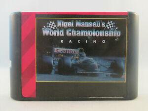 Sega Mega Drive Genesis - Nigel Mansell's World Championship Racing