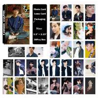 30pcs/set Kpop GOT7 YuGyeom 7 FOR 7 Poster Photo Card Lomo Cards
