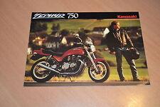 DEPLIANT Kawasaki Zephyr 750 1991