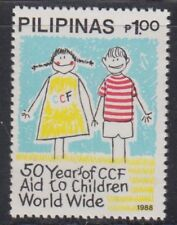 Philippine Stamps 1988 Christian Children's Fund Complete MNH