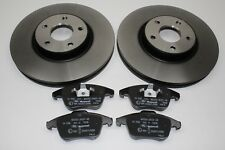 Discos de Freno Originales + Forros Delantero Ford Mondeo Mk4 1500159+ 1916756