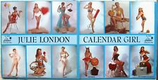 JAZZ/POP VOCAL LP: JULIE LONDON Calendar Girl LIBERTY 9002 cheesecake gatefold