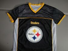 New ListingPittsburgh Steelers Reversible Flag Football Screen NFL Jersey  Adult M NICE abcca9228