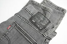 LEVI STRAUSS & CO. 510 Men's W29/~L30* Grey Stretchy Skinny Fit Jeans 35580-GS