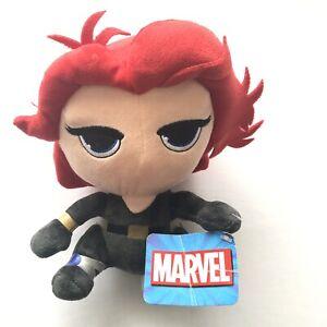 Marvel Black Widow Avengers 18cm Plush Toy Superhero Movie Collectable