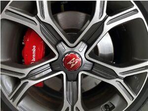E logo 18inch 19inch Center Wheel Aluminum Cover Cap For 2018 2019+ Kia Stinger