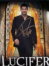 Tom Ellis Lucifer Signed 8x10 Photo Autograph