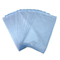 Microfiber Glass Cleaning Cloths Pack of 12 - Lint Free Streak Free 16x16 Colors