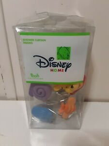 Disney Home Pooh Collection Shower Curtain Hooks Brand New