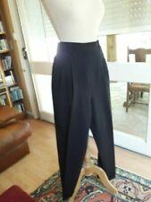 Pantalons vintage en synthétique pour femme