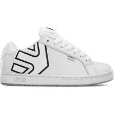 Etnies Skateboard Shoes Fader White/Silver