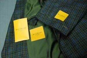 "NEW HICKEY FREEMAN ""Addison"" men's sport jacket coat sz 44R wool cashmere"