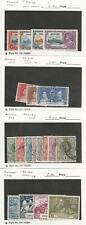 Swaziland, Postage Stamp, #20-34, 50-53 Mint & Used, 1935-49, JFZ