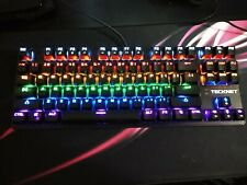 TeckNet Mechanical Keyboard Rainbow Backlit Illuminated Wired Gaming Keyboard