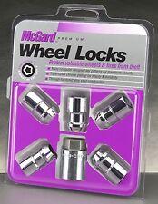 "[24538] McGard 1/2""-20 Locking Wheel Lug Nuts & Key 3/4"" & 13/16"" Hex Set of 5"