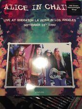 """Alice in Chains """"en vivo en Sheraton la reina en los Ángeles's Vinilo Lp Nuevo + Sellado"""