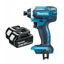 Makita DTD152Z 18V LXT Impacto Destornillador y baterías 2x BL1830 3.0Ah