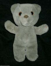 "9"" VINTAGE 1987 APPLAUSE MAGICAL MESSENGER TEDDY BEAR STUFFED ANIMAL PLUSH TOY"