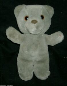 "9"" VINTAGE 1987 APPLAUSE MAGICAL MESSENGER TEDDY BEAR STUFFED ANIMAL PLUSH TOY"