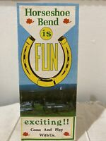 Vintage 1960s Horseshoe Bend Arkansas Tourist Travel Vacation Brochure