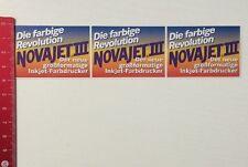 Aufkleber/Sticker:Farbige Revolution - NOVAJET III-Inkjet Farbdrucker(260316160)