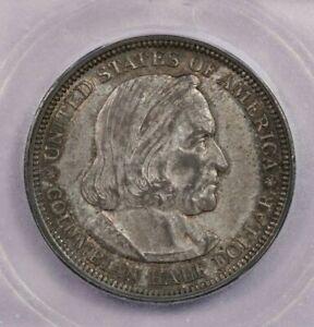 1892-P 1892 Columbian Half Dollar ICG AU55