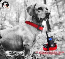 Vibration Dog Training Collar No Shock Remote 1500ft Safe Pet Behavior Paipaitek