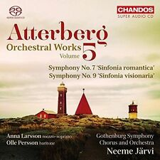 Atterberg: Orchestral Works, Vol. 5, New Music