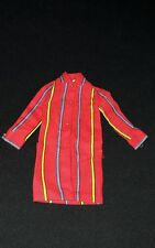 Vintage Barbie Smasheroo #1860 (1968 - 1969) Red Cotton Striped Dress