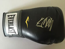 Kevin Mitchell mano firmato Nero Lonsdale Boxing Glove.