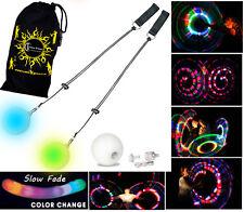 LED POI - Glow Poi ( Slow Fade Poi ) Juggling / Circus