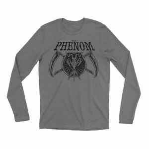 """Official WWE Authentic Undertaker """"The Phenom"""" Long Sleeve Shirt Black/Purple"""