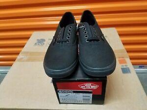 Vans Authentic Lo Pro Lace Up Black Casual Shoes
