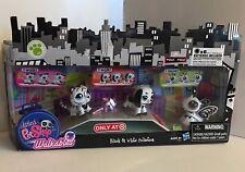 Littlest Pet Shop City Walkables Black & White Target Exclusive 2363 2364 2365